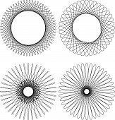 Spirograph Pattern Frame