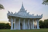 Thai white church