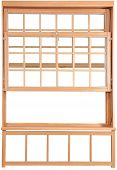 Wood Double Hung Windows. Double-hung Window Parts.