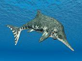 Ichthyosaur Stenopterygius