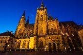 St Vitus Cathedral, Prague, Czech Republic