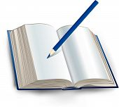 Book With Pencil