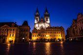 Tyn Church, Landmark Of Prague Old City