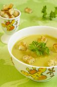 Ñream Soup From Peas