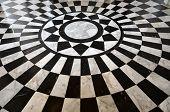 tile floor pattern