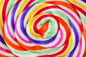 pic of lollipop  - a macro shot of lollipop candy  - JPG