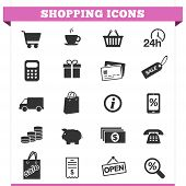 Shopping Icons-Vector-Set
