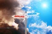 Offline Vs en línea