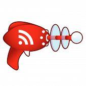 RSS feed on retro raygun