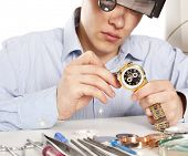 image of time-piece  - Watchmaker - JPG