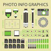 Photo infographics set, part one