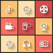 Vector design flat icons