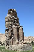 Memnon statue in Luxor