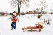 boy on sledge games