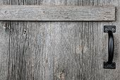 Old Barn Wood Door