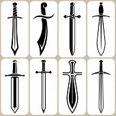 Swords Icons Set