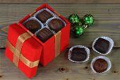 Christmas Chocolate Candies