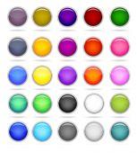 Set Of Circle Button
