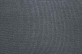Texture Of Silvery Kapron Fabric