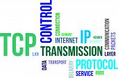 Word Cloud - Tcp