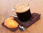 coffee and madeleine
