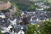 Town Dillenburg In Hesse, Germany