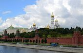 Moscow Kremlin And Kremlin Embankment