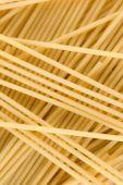 Uncooked Italian Spaghetti Background poster