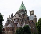 Cathedral Of Saint Bavo In Haarlem, Netherlands