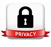 privacy private area protection of personal online data or confidential information, password protec