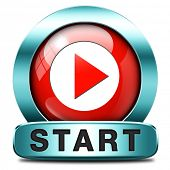 start or begin the game movie or video new beginning