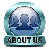 About us our team members icon or button