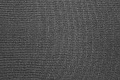 Texture Of Black Nylon Fabric