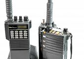 Closeup Of Portable Radio