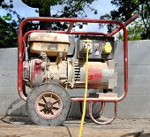 Dirty Old Portable Generator