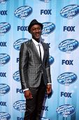 LOS ANGELES - MAY 21:  Aloe Blacc at the American Idol Season 13 Finale at Nokia Theater at LA Live on May 21, 2014 in Los Angeles, CA