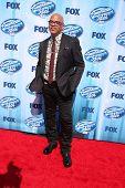 LOS ANGELES - MAY 21:  Ricky Minor at the American Idol Season 13 Finale at Nokia Theater at LA Live
