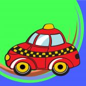 image of beetle car  - illustration of Transport Cartoon - JPG