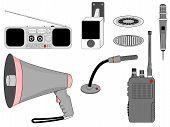 Void telecommunication devices set