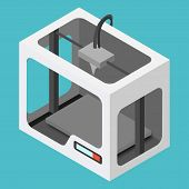 Isometric 3D Printer