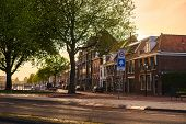 Streets of Haarlem town