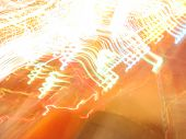 night-time fun-fair blur