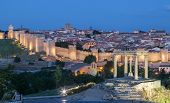 Medieval City Of Avila, Spain