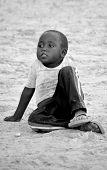 child living in town of Bangani