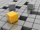 Yellow Cube