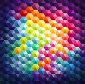 Colorful Mosaic Background, vector eps 10 illustration