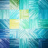 Turquoise Geometric Background, vector eps10 illustration