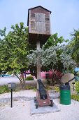 Lookout post at George Town, Cayman Islands