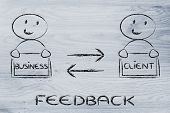 Communication And Feedback Between Business And Client