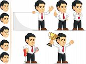 Office Worker Customizable Mascot 2